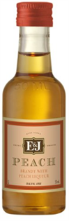 E & J Peach Brandy 50ml